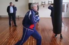 Пензенский губернатор Иван Белозерцев потренировался с боксерами