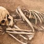 Скелет, обнаруженный бековскими школьниками, предадут земле