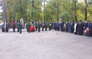 В Пензенской области с почестями перезахоронили участника ВОВ