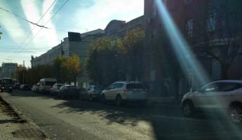 По ночам в Пензе ремонтирует улицу Максима Горького