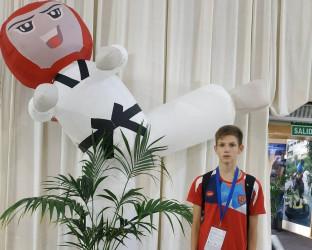 На Первенстве Европы по тхэквондо выступил спортсмен из Пензы