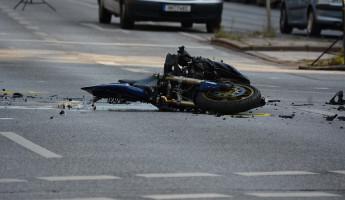 В Пензенской области в страшную аварию попал мотоциклист