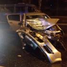 В Пензе легковушку разорвало на части после столкновения с цементовозом