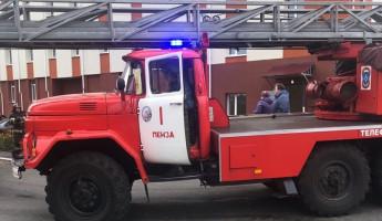 В одной из детских поликлиник Пензы начался пожар