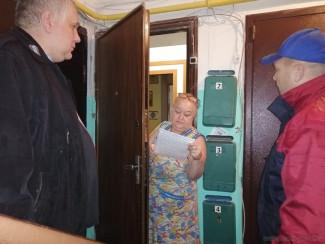 Жителям многоквартирных домов Пензы напомнили о пожарной безопасности