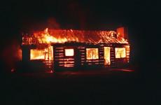 В Пензенской области из-за пожара эвакуировали мужчину