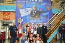Спортсмены из Пензенской области стали призерами турнира по греко-римской борьбе