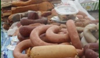 В Пензенской области сняли с продажи подозрительные мясо и колбасу