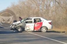На трассе в Пензенской области разбились две иномарки