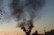 Столб черного дыма в пензенской Терновке встревожил горожан