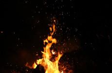 С утренним пожаром в пензенском Кривозерье боролась бригада спасателей