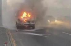 В Пензе полыхает машина «скорой помощи»