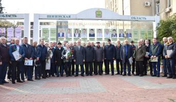 В Пензе обновлена Галерея Почета работников дорожного хозяйства