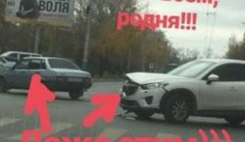 Пензенец Павел Воля заметил ДТП, случившееся возле его рекламного щита