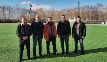 В Пензенской области завершается реконструкция стадиона ФК «Дорожник»