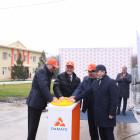 В Пензенской области открыли завод по производству комбикорма