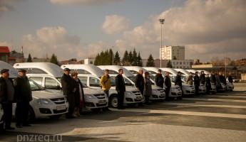 Организации соцобслуживания населения Пензенской области получили новые машины