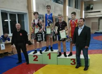 Пензенские борцы завоевали пять медалей на межрегиональном турнире