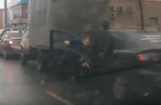 Пензенские водители устроили «смертельную битву» на дороге. ВИДЕО