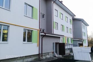 В Пензенской области построили первый жилой дом для бюджетников