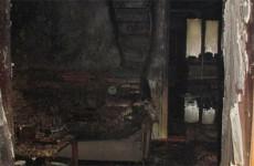 Появились фото с места страшного пожара в Пензенской области