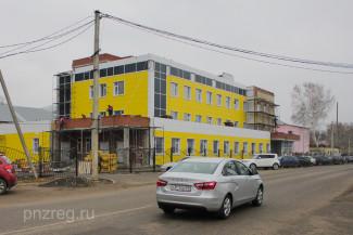 В Пензенской области достраивают новую детскую поликлинику