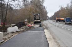 В Пензе заканчиваются работы по расширению дороги у Ахунского переезда