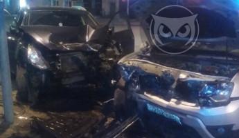 Появилась информация о пострадавших в ДТП с разбитыми в центре Пензы машинами