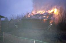 Серьезный пожар в Пензенской области тушили 12 человек