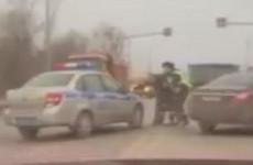 Появилось полное видео жесткого задержания водителя в Пензе