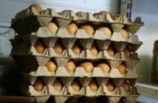 В Пензенской области сняли с продажи подозрительное яйцо