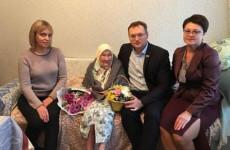 Жительницу Пензы поздравили со 101-м днем рождения