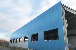 Пензенская компания «СтанкоМашСтрой» завершает первый этап возведения нового цеха