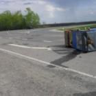 В Пензенской области грузовик столкнулся с катком