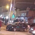 В самом центре Пензы разбились две машины