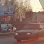 В Пензе две улицы замерли в пробке из-за тройного ДТП