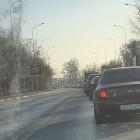 На улице Окружной в Пензе из-за аварии образовалась огромная пробка