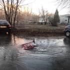 Очередная коммунальная авария в Пензе: «поплыла» улица Воронова