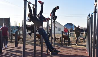 В Пензенской области открыли новую спортплощадку