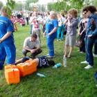 В Пензе участнику эстафеты, посвященной Дню Победы, стало плохо прямо во время забега