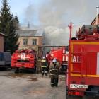 Обнародованы фото с места пожара на предприятии в Пензенской области