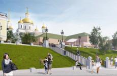 Пензенские власти отчитались о ходе реконструкции Крепостного вала