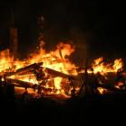 В Пензенской области пожар уничтожил деревянный дом