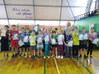 В Пензе завершились соревнования по настольному теннису