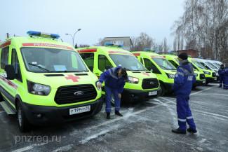 Пензенские бригады скорой помощи получили новые машины