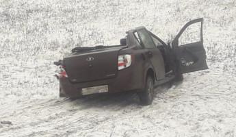 Обнародованы фото с места автокатастрофы на трассе «Тамбов-Пензы»