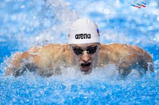 Пловец из Пензенской области вошел в пятерку лучших на чемпионате Европы