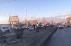 Авария на Чаадаева в Пензе спровоцировала серьезную пробку