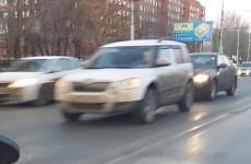 На проспекте Победы в Пензе столкнулись две иномарки
