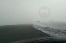 «Нереальный туман». Пензенцев предупреждают об опасности на трассе